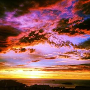 Sunrise over Encounter Bay