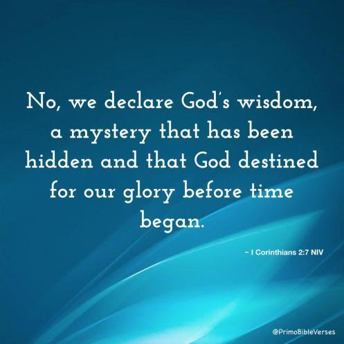 GOD'S SECRET WISDOM - 2